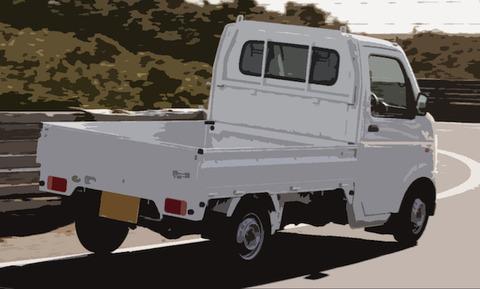 軽トラ運転