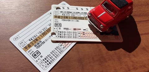 運転免許証の期限が平成33年