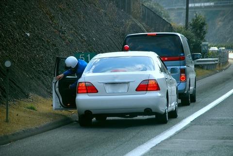 60キロ制限の道路で82キロ危険な運転