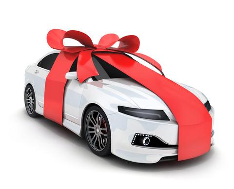 親に車買ってもらう