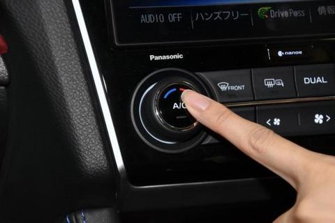 車のエアコンって送風