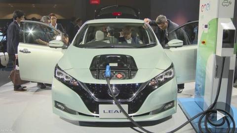 2050年にすべて電動車に 世界で販売の日本乗用車