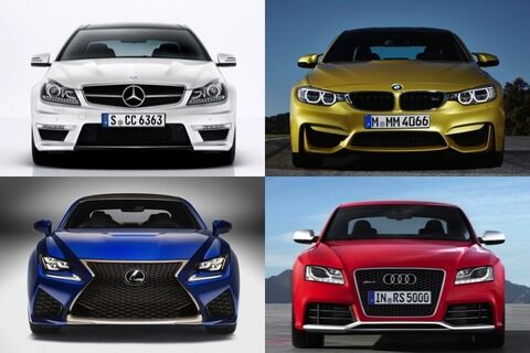 レクサス、ベンツ、BMW、アウディ