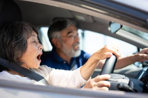 車を運転していて体験した危険な事