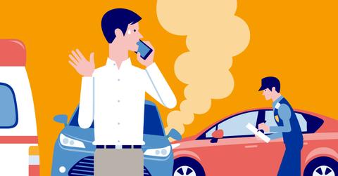 交通事故した時の対応