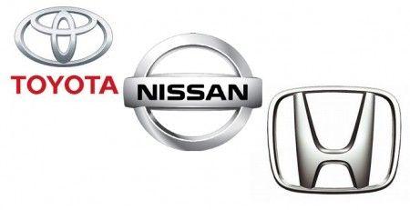 ToyotaNissanand-Honda