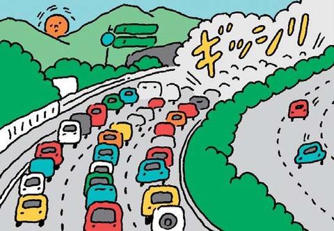 年末年始の高速道路SAのワクワク感wwwwwwww