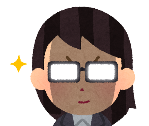 免許に眼鏡