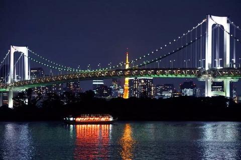 東京を一日中ドライブ