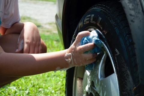 洗車がクソめんどくさい