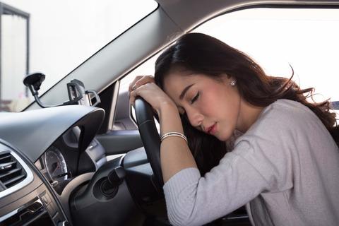 10分で眠くなって運転できない