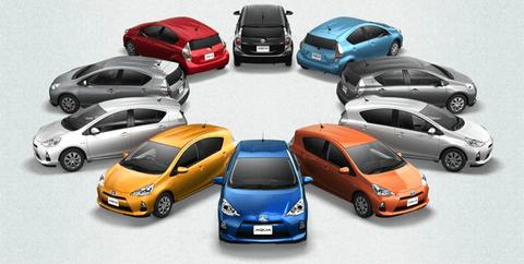 車のカラー