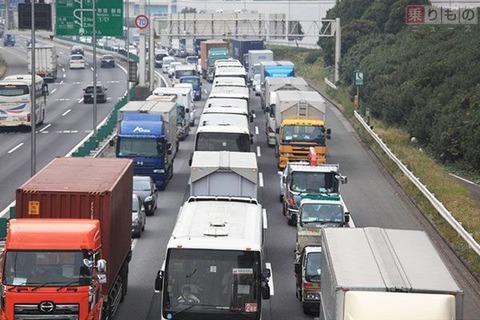 高速道路が渋滞する原理