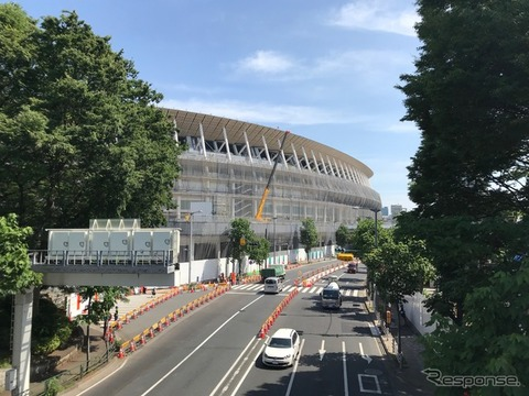 【悲報】東京五輪、駐車場が足りないので「駐車場対策協議会」が誕生