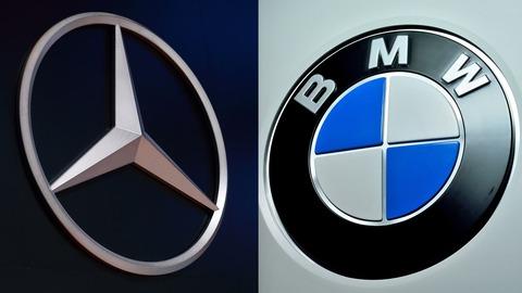 BMWとベンツ