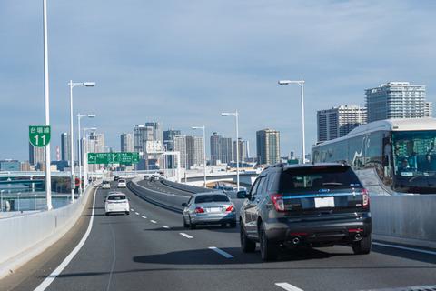 高速道路での運転