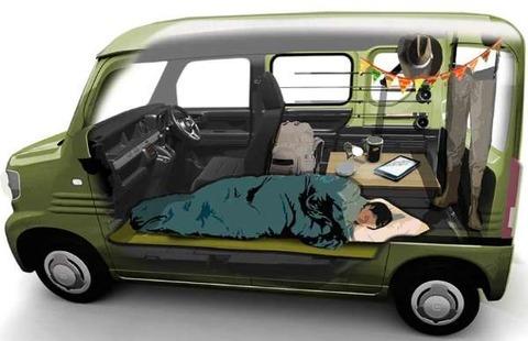 車中泊をする為に軽自動車を買うとバイト先の後輩に話したら「軽で車中泊とかホームレスみたいですねw」と言われたwww