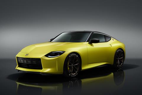 日産、新型「フェアレディZ」を公開 V6ツインターボ&6速MT搭載