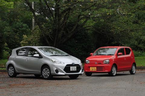 軽自動車とコンパクトカー