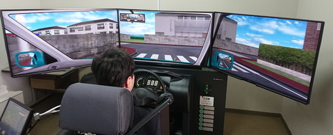 【悲報】ワイ、車の運転の模擬でぶつけまくった模様wwwww