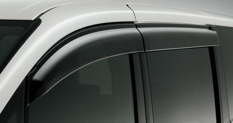 車の窓にバイザー付ける人が減ってるらしい・・・・
