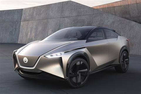 「ニッサンIMx KURO」が搭載する、未来の運転支援技術はまるでSF ジュネーブモーターショーで公開