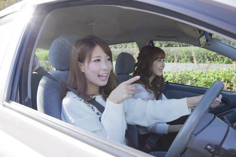 女は運転下手