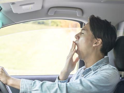 運転中眠くて