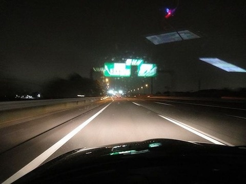 片道高速950kmを車で走った