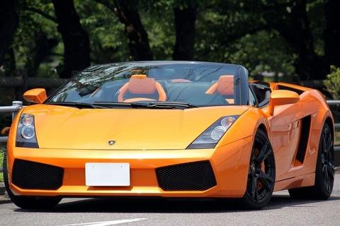 フェラーリのイメージカラー←赤、じゃあランボルギーニのイメージカラーは?