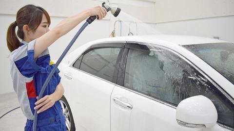 洗車の手順