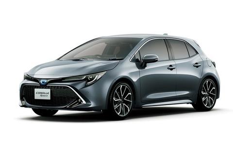 トヨタ・カローラ スポーツに装備充実の特別仕様車 新たなボディーカラーも設定