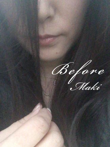 before 前髪