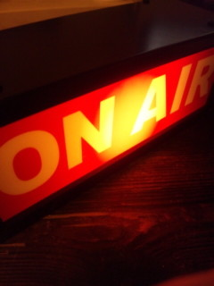 ON AIR ライト