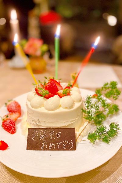 48歳のケーキ