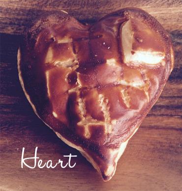 heartのパン