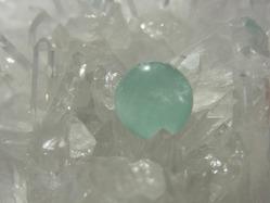 フローライトと水晶