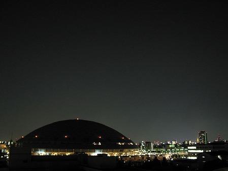 ナゴヤドーム夜