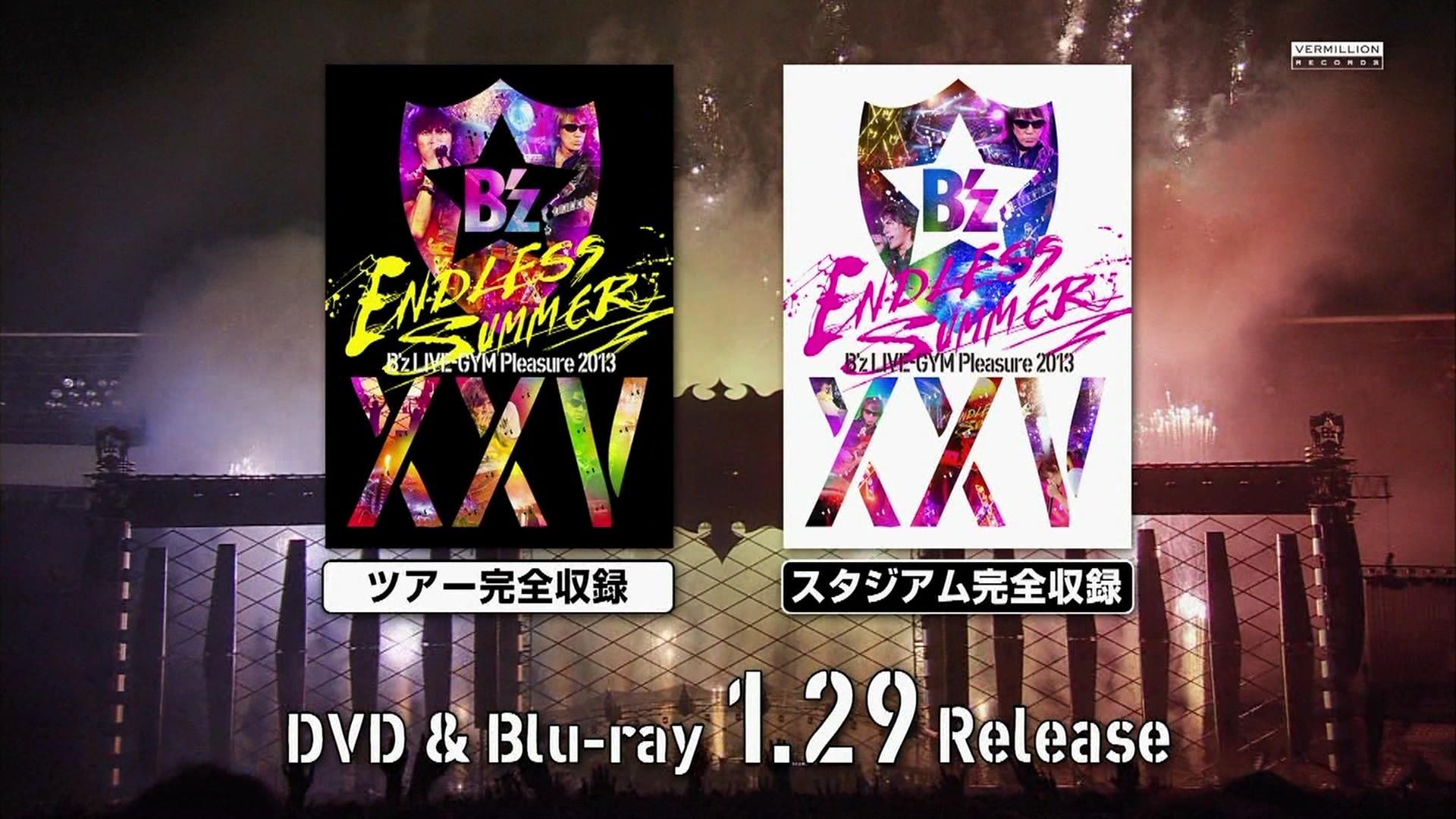 DVD & Blu-ray B'z LIVE-GYM Pleasure 2013-ENDLESS SUMMER ...