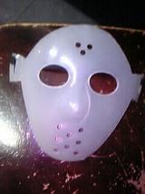 謎の手作り仮面