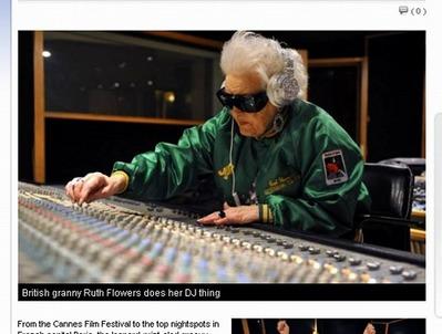 DJ:おばあちゃん