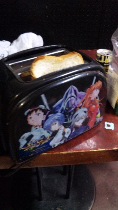 エヴァjのトースター