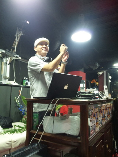 DJ SHINさんと