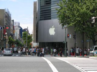 りんごのマークの角の店(元お米ギャラリー)