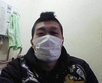 風邪はひいてないが