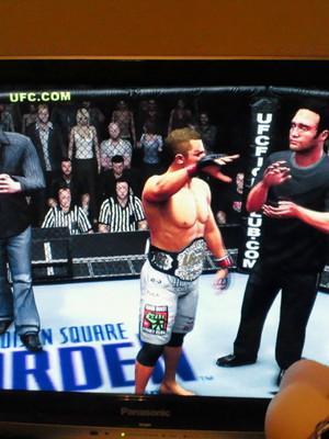 UFCのちゃんぴおんになりました