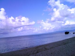 コレが本当の海の色