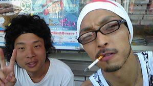 ヒッチハイクで日本一周する男・松谷君