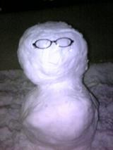 シミ雪だるさん