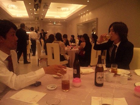 楽しい披露宴でした